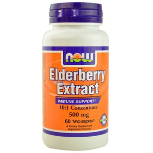 Now foods elderberry extract 500 mg