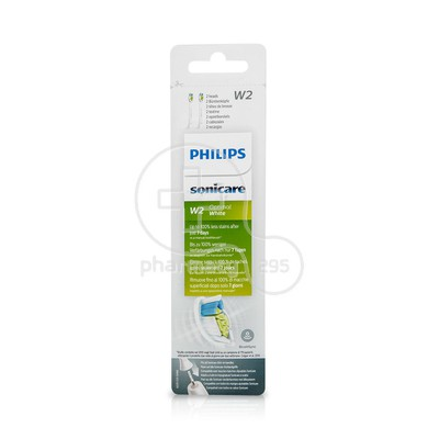 PHILIPS - SONICARE W2 Optimal White - 2τεμ. HX6062/10
