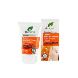 Dr.Organic Manuka Honey Foot & Heel Cream 125ml