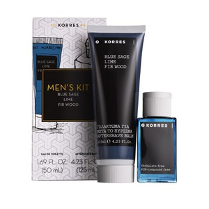 Korres men s essential blue sage set