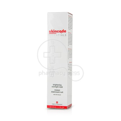 SKINCODE - ALPINE WHITE Brightening Overnight Mask - 50ml