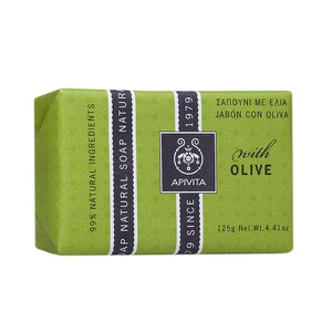 APIVITA Natural soap with olive 125gr