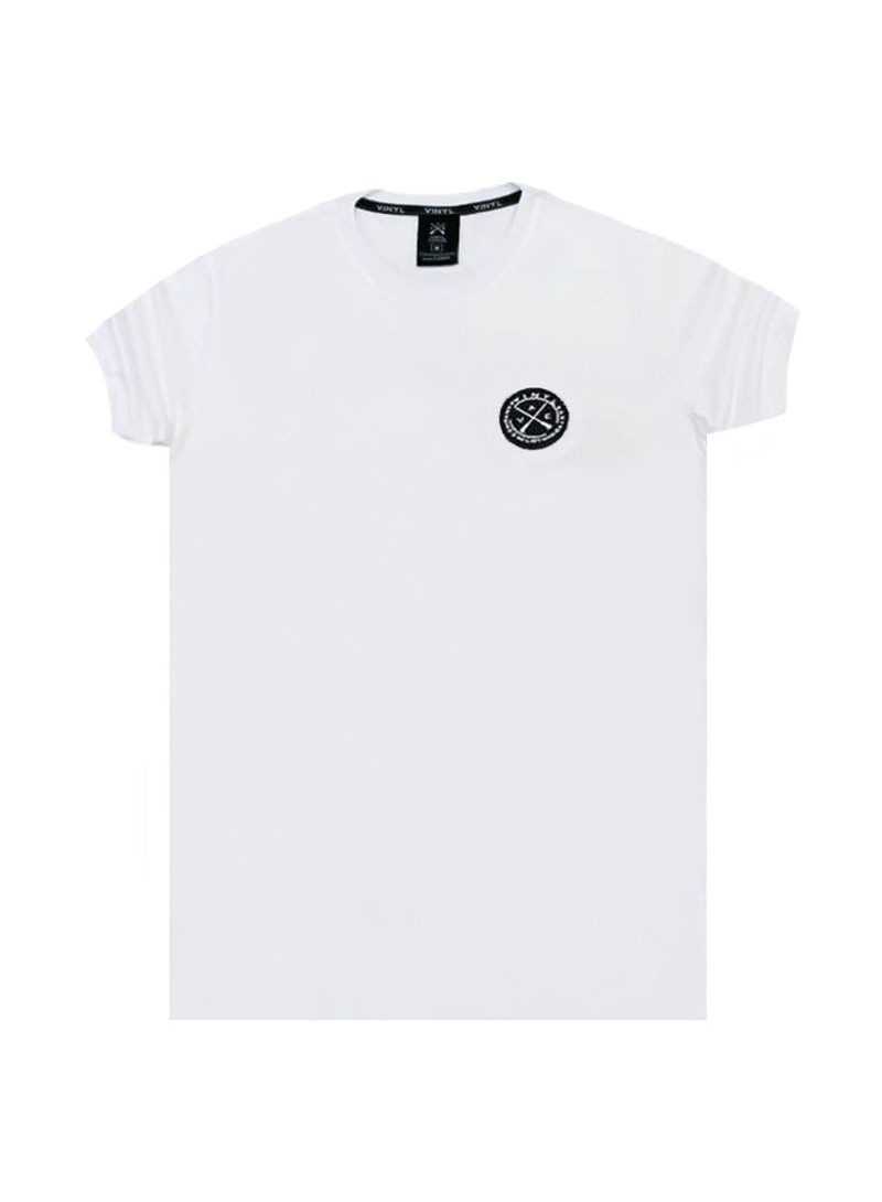 VINYL ART CLOTHING WHITE BASIC T-SHIRT