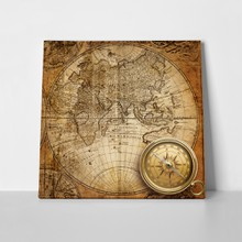 Vintage nautical map 1746 59106952 a