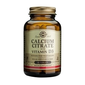 Main uk calcium citrate vitamind3 60 tablets 0430 pic