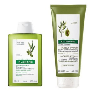 Klorane shampoo olive 200ml   conditioner