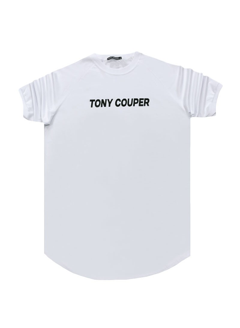 TONY COUPER WHITE LOGO T-SHIRT