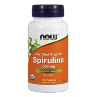NOW SPIRULINA 500MG 100TABL