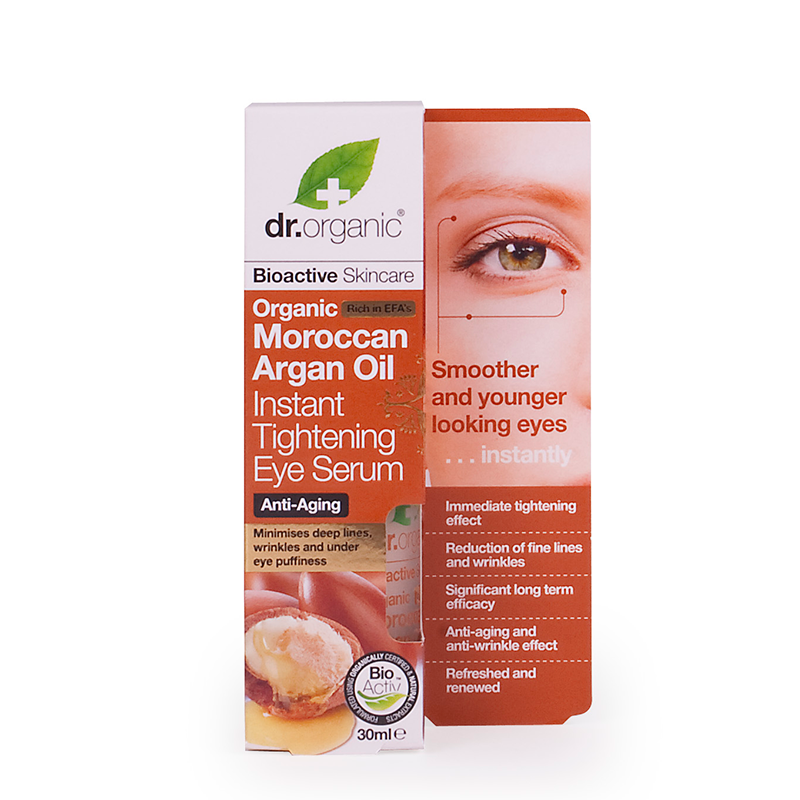 Organic Moroccan Argan Oil Instant Tightening Eye Serum