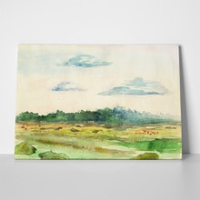 Watercolor landscape 22700524 a