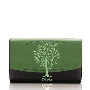 Olivia natural bar soap with extra olive oil 125g