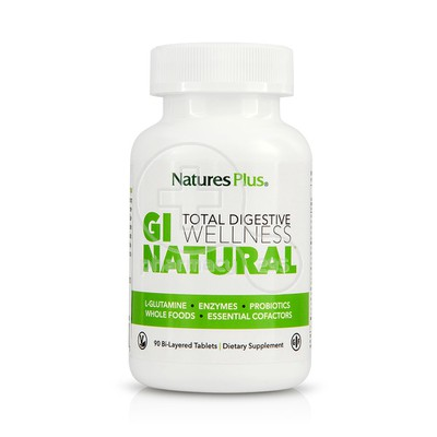 NATURE'S PLUS - GI NATURAL Total Digestive Wellness - 90tabs
