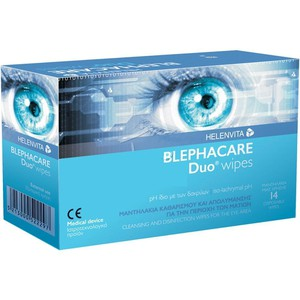 HELENVITA Blephacare duo wipes x14