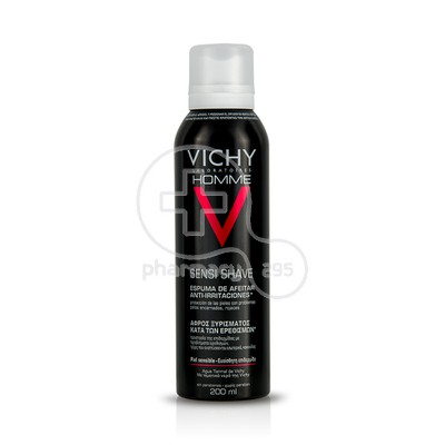 VICHY - HOMME Mousse de Rasage Anti Irritations - 200ml Sensitive Skin