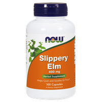 NOW SLIPPERY ELM (ΦΤΕΛΙΑ) 400 MG, 100 CAPS