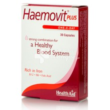 Health Aid HAEMOVIT PLUS - Σίδηρος, 30caps