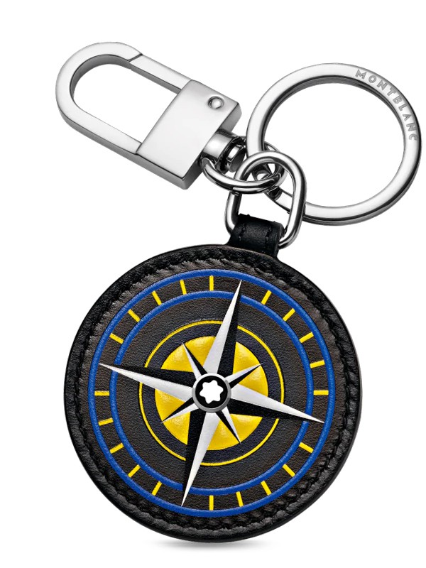 Meisterstück Soft Grain Key Fob Compass