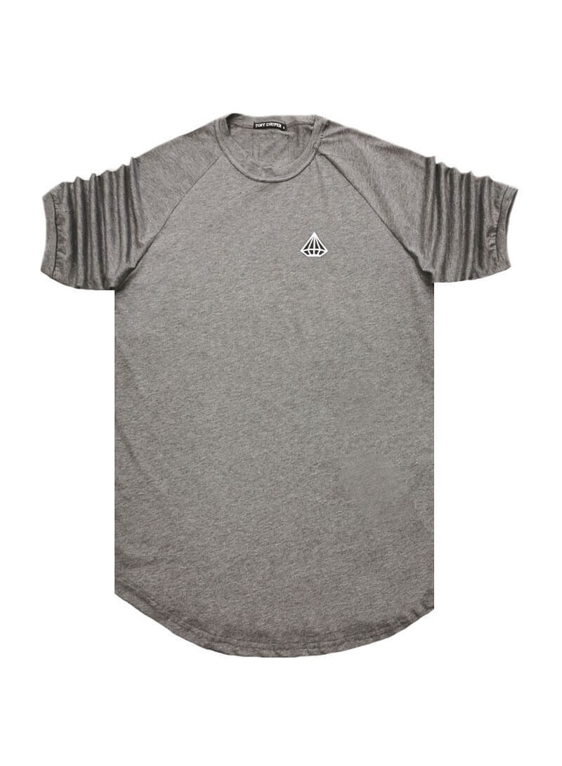 TONY COUPER GREY DIAMOND T-SHIRT