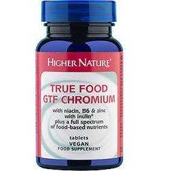 Higher Nature True Food GTF Chromium 90 veg.tabs