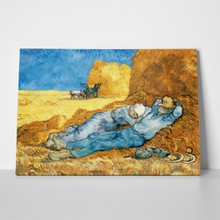 Van gogh   noon rest from work a