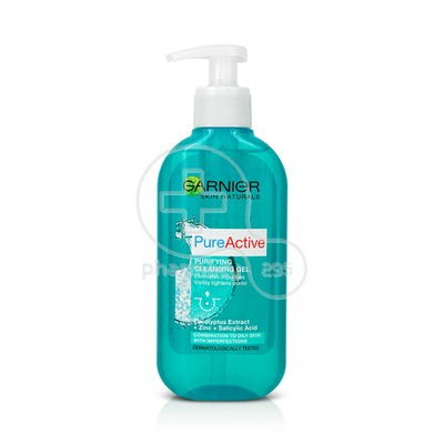GARNIER - PURE ACTIVE Cleansing Gel - 200ml / Combination, oily skin