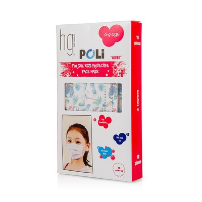 POLI MASK-6-9 AGE - 10 PIECES