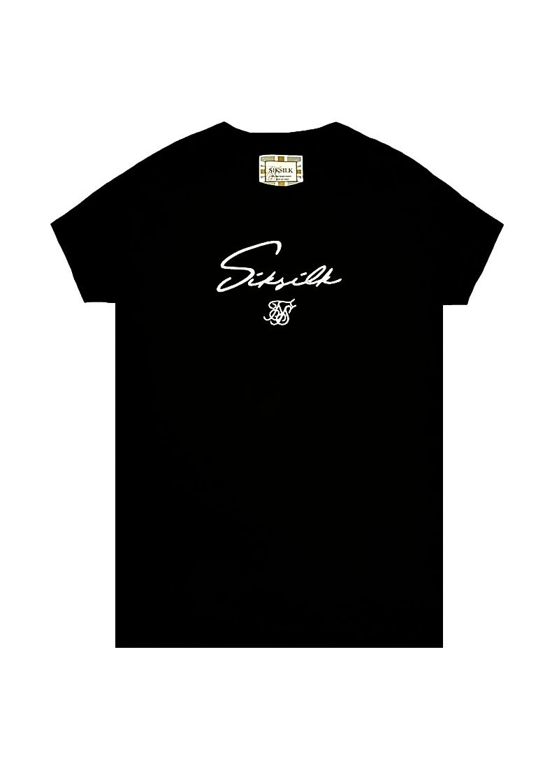 SikSilk Tech Tee - Black