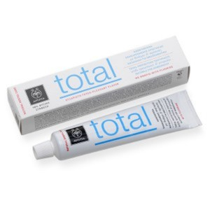 Apivita total protection toothpaste with spearmint   propolis 75ml