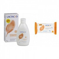 LACTACYD DAILY LOTION 300ML & ΔΩΡΟ WIPES 15TMX