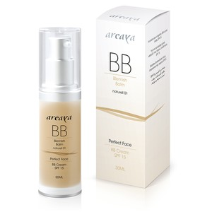 Arcaya bb cream naturell 01 30ml