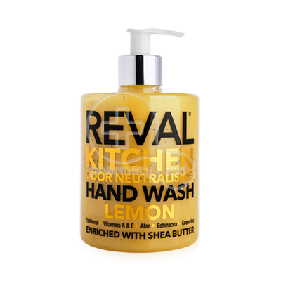 INTERMED - REVAL Kitchen Odor Nautralising Hand Wash (Lemon) - 500ml