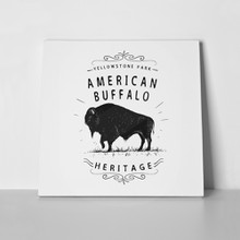 American buffalo vintage old label 505429939 a