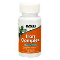 NOW IRON COMPLEX 100TABL