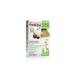 Frezylac Bio Oat Cereal With Milk Apple & Vanilla 6m+ 200gr