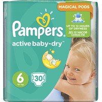 PAMPERS ACTIVE BABY-DRY No6 (15+ KG) VP (30TEM)