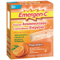 EMERGEN-C ORANGE SACH 10ΤΕΜ