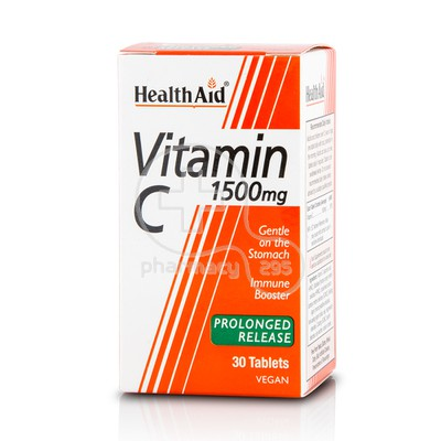 HEALTH AID - Vitamin C 1500mg - 30tabs
