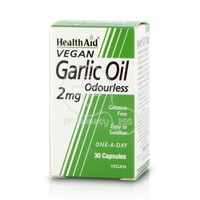HEALTH AID - Garlic Oil Odourless 2mg - 30caps