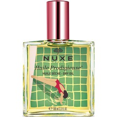 Nuxe Huile Prodigieuse Multi-purpose Dry Oil Summer Limited Edition Red - Πολυχρηστικό Ξηρό Λάδι Για Πρόσωπο Σώμα Μαλλιά Κόκκινο, 100mL