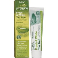 OPTIMA TEA TREE FRESH&WHITE TOOTHPASTE 100ML