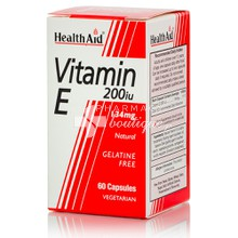 Health Aid Vitamin E 200iu - 134mg, 60 caps