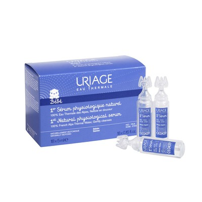 (STOP)Uriage - Bebe Serum Physiologique Naturel - 18x5ml