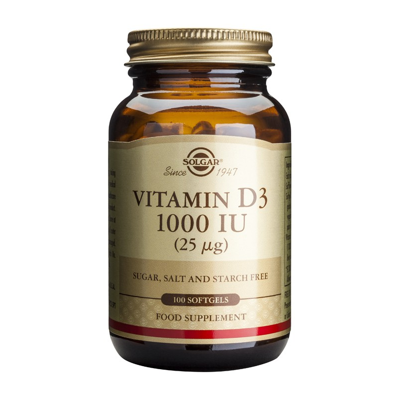 Vitamin D3 1000IU softgels