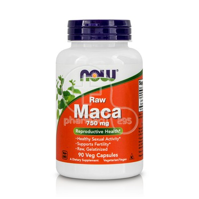 NOW - RAW MACA 750mg - 90caps