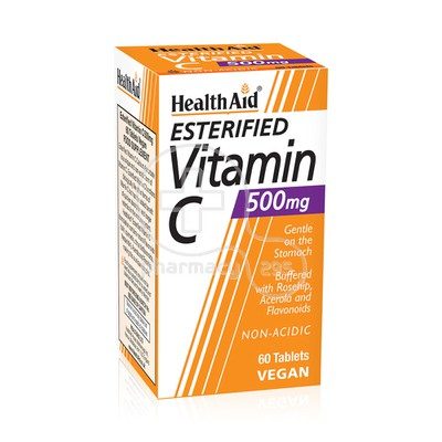HEALTH AID - ESTERIFIED Vitamin C 500mg - 60tabs