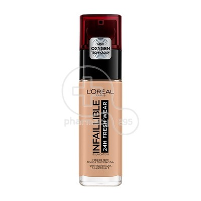 L'OREAL PARIS - INFALLIBLE 24h Fresh Wear Foundation No230 (Radiant Honey) - 30ml