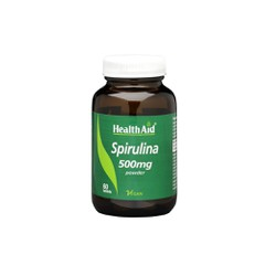 Health Aid Spirulina 500mg 60 ταμπλέτες