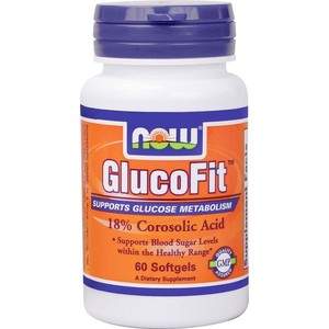 Now foods glucofit 60 softgels
