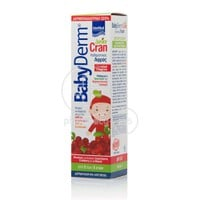 INTERMED - BABYDERM Junior Cran Foam - 150ml (για αγόρια & κορίτσια)