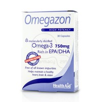 HEALTH AID - OMEGAZON Omega-3 750mg - 30caps
